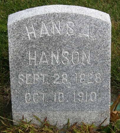 HANSON, HANS A. - Allamakee County, Iowa   HANS A. HANSON