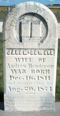 MCDOWELL HENDERSON, JANE - Allamakee County, Iowa | JANE MCDOWELL HENDERSON