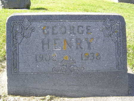 HENRY, GEORGE - Allamakee County, Iowa | GEORGE HENRY
