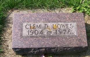 HOWES, CLEM D. - Allamakee County, Iowa   CLEM D. HOWES