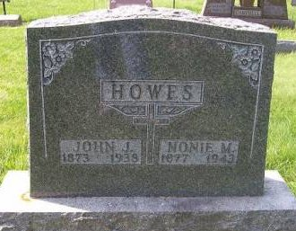 WATERS HOWES, NONIE M. - Allamakee County, Iowa | NONIE M. WATERS HOWES