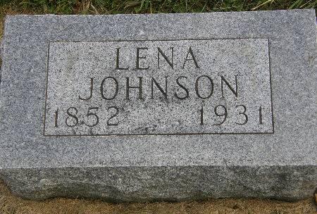 JOHNSON, LENA - Allamakee County, Iowa | LENA JOHNSON