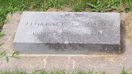 GRUBER JORDAN, FLORENCE M - Allamakee County, Iowa | FLORENCE M GRUBER JORDAN