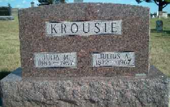 KROUSIE, JULIA M. - Allamakee County, Iowa | JULIA M. KROUSIE