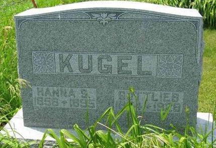 KUGEL, GOTTLIEB - Allamakee County, Iowa | GOTTLIEB KUGEL