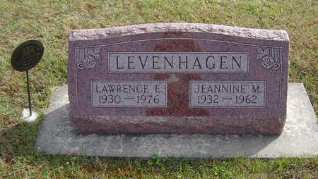 LEVENHAGEN, JEANNINE MARIE - Allamakee County, Iowa | JEANNINE MARIE LEVENHAGEN