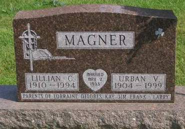 MAGNER, URBAN V. - Allamakee County, Iowa | URBAN V. MAGNER
