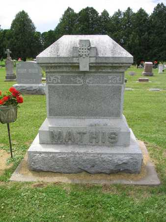 MATHIS, FAMILY MARKER - Allamakee County, Iowa | FAMILY MARKER MATHIS