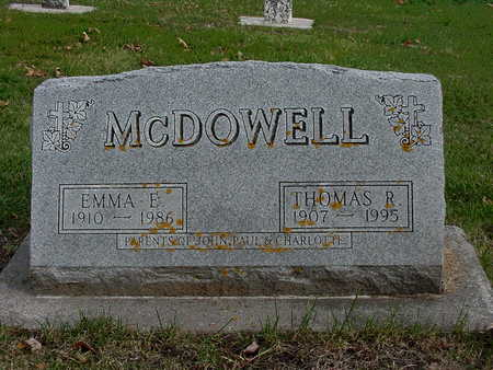 MCDOWELL, THOMAS ROBERT - Allamakee County, Iowa | THOMAS ROBERT MCDOWELL