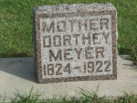 MEYER, DOROTHEA - Allamakee County, Iowa | DOROTHEA MEYER