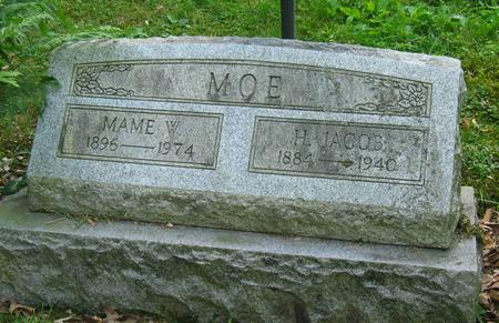MOE, H. JACOB - Allamakee County, Iowa | H. JACOB MOE