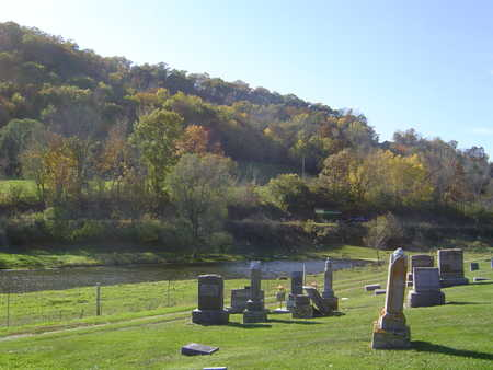 NEW ALBIN, CEMETERY - Allamakee County, Iowa | CEMETERY NEW ALBIN