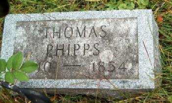 PHIPPS, THOMAS - Allamakee County, Iowa | THOMAS PHIPPS