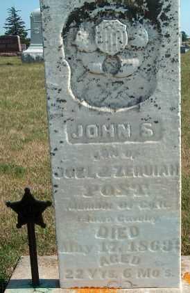 POST, JOHN S. - Allamakee County, Iowa | JOHN S. POST