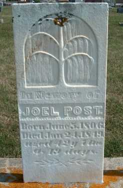 POST, JOEL - Allamakee County, Iowa | JOEL POST