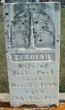 POST, ZERUIAH - Allamakee County, Iowa | ZERUIAH POST