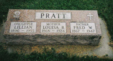 PRATT, LILLIAN - Allamakee County, Iowa | LILLIAN PRATT