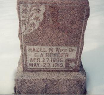 REEDER, HAZEL M - Allamakee County, Iowa | HAZEL M REEDER