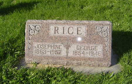 RICE, GEORGE - Allamakee County, Iowa | GEORGE RICE