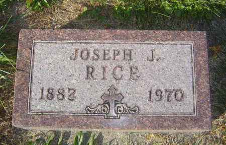 RICE, JOSEPH J. - Allamakee County, Iowa | JOSEPH J. RICE