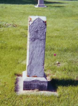 ROTHERMEL, JOHANNES - Allamakee County, Iowa   JOHANNES ROTHERMEL