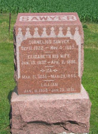 SAWYER, ELIZABETH - Allamakee County, Iowa | ELIZABETH SAWYER