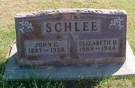SCHLEE, ELIZABETH  D. - Allamakee County, Iowa | ELIZABETH  D. SCHLEE