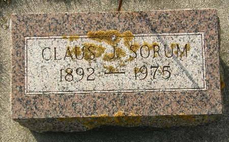 SORUM, CLAUS J. - Allamakee County, Iowa | CLAUS J. SORUM
