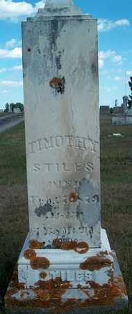STILES, TIMOTHY - Allamakee County, Iowa | TIMOTHY STILES