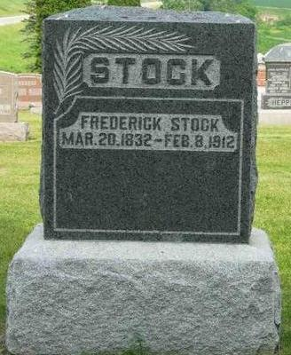 STOCK, FREDERICK - Allamakee County, Iowa | FREDERICK STOCK