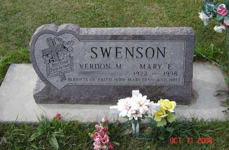 SWENSON, MARY E. - Allamakee County, Iowa | MARY E. SWENSON