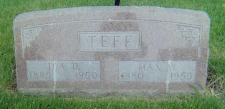 MUENKEL TEFF, IDA D. - Allamakee County, Iowa | IDA D. MUENKEL TEFF