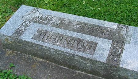 THORNTON, ALICE - Allamakee County, Iowa | ALICE THORNTON