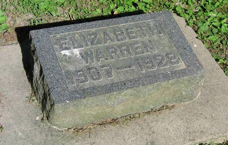 WARREN, ELIZABETH - Allamakee County, Iowa | ELIZABETH WARREN