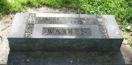 WARREN, GERTRUDE M. - Allamakee County, Iowa | GERTRUDE M. WARREN