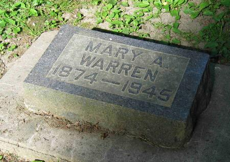 WARREN, MARY ANN - Allamakee County, Iowa | MARY ANN WARREN