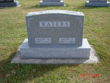 WATERS, LILLIAN M. - Allamakee County, Iowa | LILLIAN M. WATERS