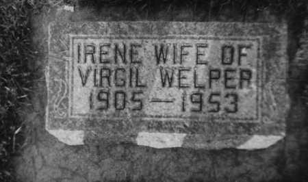 WELPER, IRENE - Allamakee County, Iowa | IRENE WELPER