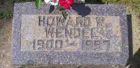 WENDEL, HOWARD W. - Allamakee County, Iowa | HOWARD W. WENDEL