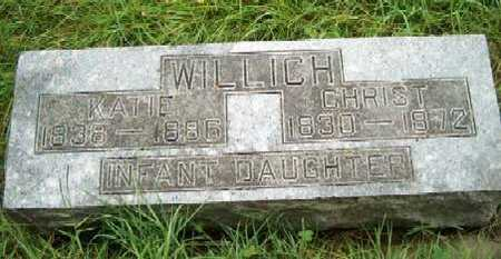 WILLICH, INFANT - Allamakee County, Iowa | INFANT WILLICH