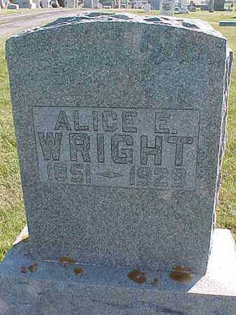 WRIGHT, ALICE  E. - Allamakee County, Iowa | ALICE  E. WRIGHT