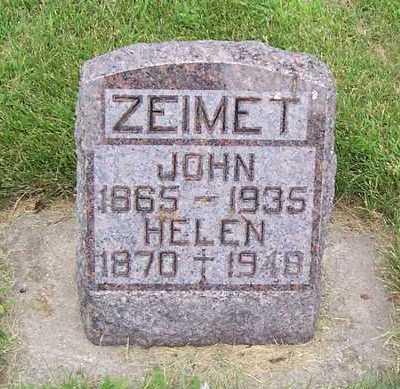 RICE ZEIMET, HELEN - Allamakee County, Iowa | HELEN RICE ZEIMET