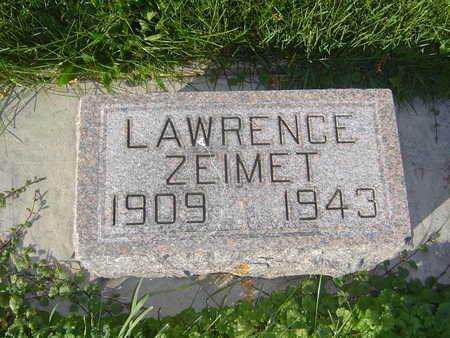 ZEIMET, LAWRENCE - Allamakee County, Iowa | LAWRENCE ZEIMET