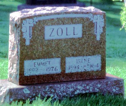 RONAN ZOLL, IRENE - Allamakee County, Iowa | IRENE RONAN ZOLL