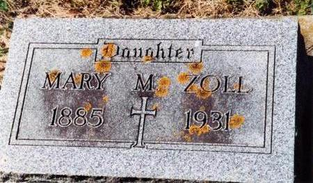 ZOLL, MARY M - Allamakee County, Iowa | MARY M ZOLL