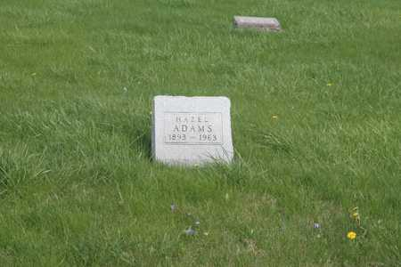 ADAMS, HAZEL - Appanoose County, Iowa | HAZEL ADAMS