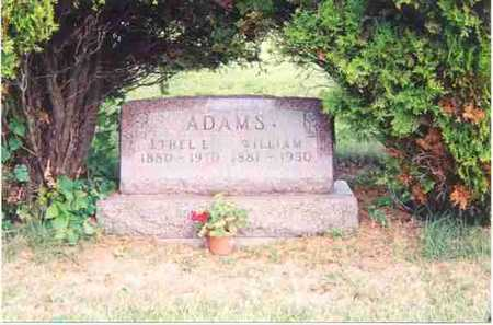 ADAMS, WILLIAM - Appanoose County, Iowa | WILLIAM ADAMS