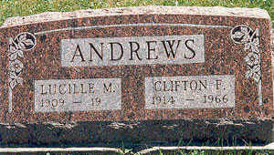 ANDREWS, CLIFTON F. - Appanoose County, Iowa | CLIFTON F. ANDREWS