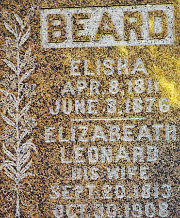 BEARD, ELIZABETH - Appanoose County, Iowa | ELIZABETH BEARD