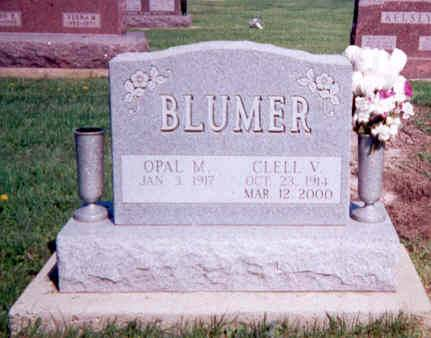 BLUMER, OPAL M AND CLELL V - Appanoose County, Iowa | OPAL M AND CLELL V BLUMER